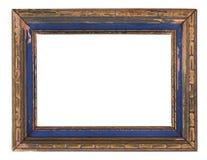 Frame de retrato de madeira velho fotos de stock royalty free