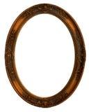 Frame de retrato decorativo oval fotografia de stock