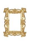 Frame de retrato do ouro Imagem de Stock Royalty Free