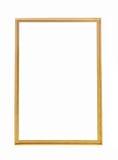 Frame de retrato do ouro foto de stock