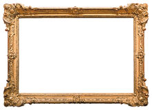 Frame de retrato do ouro Fotografia de Stock