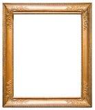 Frame de retrato do ouro Fotografia de Stock Royalty Free
