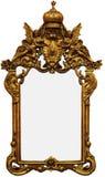 Frame de retrato do ouro do vintage imagens de stock royalty free