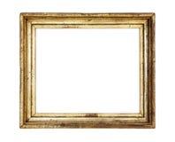 Frame de retrato do ouro do vintage, patina Fotografia de Stock