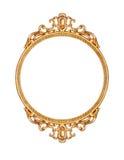 Frame de retrato dourado Fotografia de Stock Royalty Free