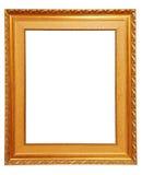 Frame de retrato dourado Fotos de Stock