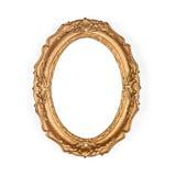 Frame de retrato dourado velho Fotos de Stock Royalty Free