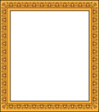 Frame de retrato em branco Foto de Stock