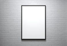 Frame de retrato em branco Imagens de Stock