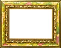 Frame de retrato florescido colorido Foto de Stock Royalty Free