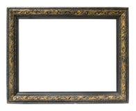 Frame de retrato horizontal vazio foto de stock
