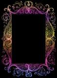 Frame de retrato isolado, esboço Foto de Stock Royalty Free