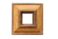 Frame de retrato ornamentado Fotografia de Stock