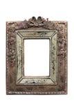 Frame de retrato ornamentado do vintage. Trajeto de grampeamento Fotos de Stock