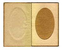 Frame de retrato oval do vintage Imagem de Stock Royalty Free