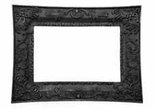 Frame de retrato, preto Fotos de Stock Royalty Free