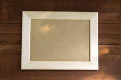 frame de retrato vazio Imagem de Stock