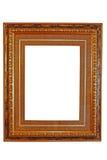 Frame de retrato vazio (com trajeto de grampeamento) imagens de stock