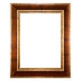 Frame de retrato vazio isolado imagem de stock
