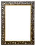 Frame de retrato velho ornamentado do golfe Imagens de Stock