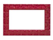 Frame de retrato vermelho Fotos de Stock Royalty Free