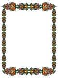 Frame in de Russische stijl Royalty-vrije Stock Foto