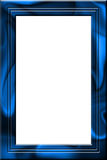 Frame de seda do retrato do véu ilustração stock