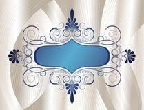 Frame de Swirly Imagem de Stock