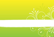 Frame de texto com ornamento Imagem de Stock