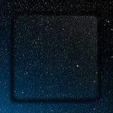 Frame de vidro Céu estrelado Eps 10 Fotos de Stock Royalty Free