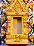 The frame of the dead. The ashes storage of the cremated dead in any temple of Thailand Stock Photos