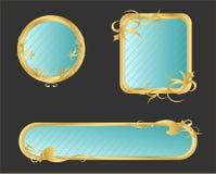 Frame decorado Fotografia de Stock Royalty Free