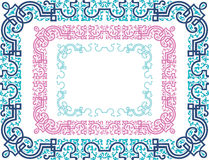Frame decorative Stock Photos