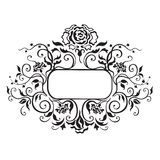 Frame with decorative elements Royalty Free Stock Photos