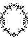 Frame of decorative ornament.  Graphic arts. Stock Photos