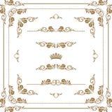 Frame decorativo Fotos de Stock Royalty Free