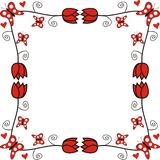 Frame decorativo Imagens de Stock Royalty Free