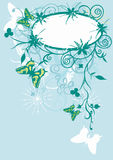 Frame decorativo ilustração do vetor