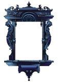 Frame decorativo abstrato ilustração royalty free