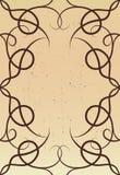 Frame decorativo - beira Imagem de Stock Royalty Free