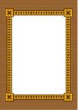 Frame decorativo com um ornamento Fotos de Stock