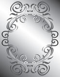 Frame decorativo de Scrollwork Foto de Stock