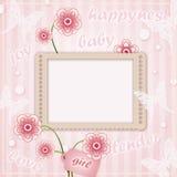 Frame decorativo do molde Fotografia de Stock