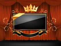 Frame decorativo do vetor Imagens de Stock Royalty Free