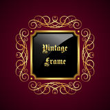 Frame decorativo do vintage Fotos de Stock Royalty Free