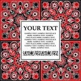 Frame decorativo elegante para o texto. Fotografia de Stock Royalty Free
