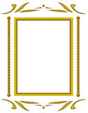 Frame decorativo. JPG e EPS Imagem de Stock Royalty Free