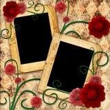 Frame decorativo velho Fotografia de Stock
