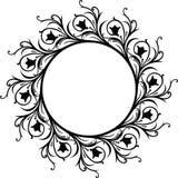 Frame decorativo, vetor Imagem de Stock