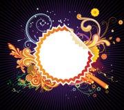 Frame denominado Funky do projeto ilustração royalty free